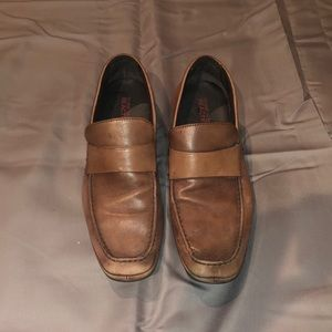 Kenneth Cole Brown Loafers Size 9